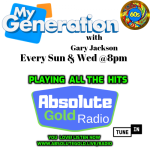 My Generation on Absolute Gold Radio